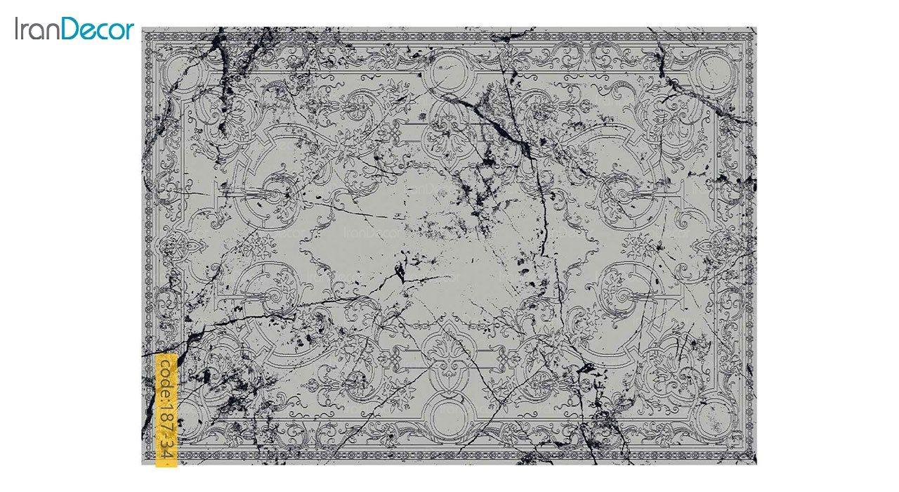 تصویر فرش مدرن برنتین طرح یونیک مدل 187-34