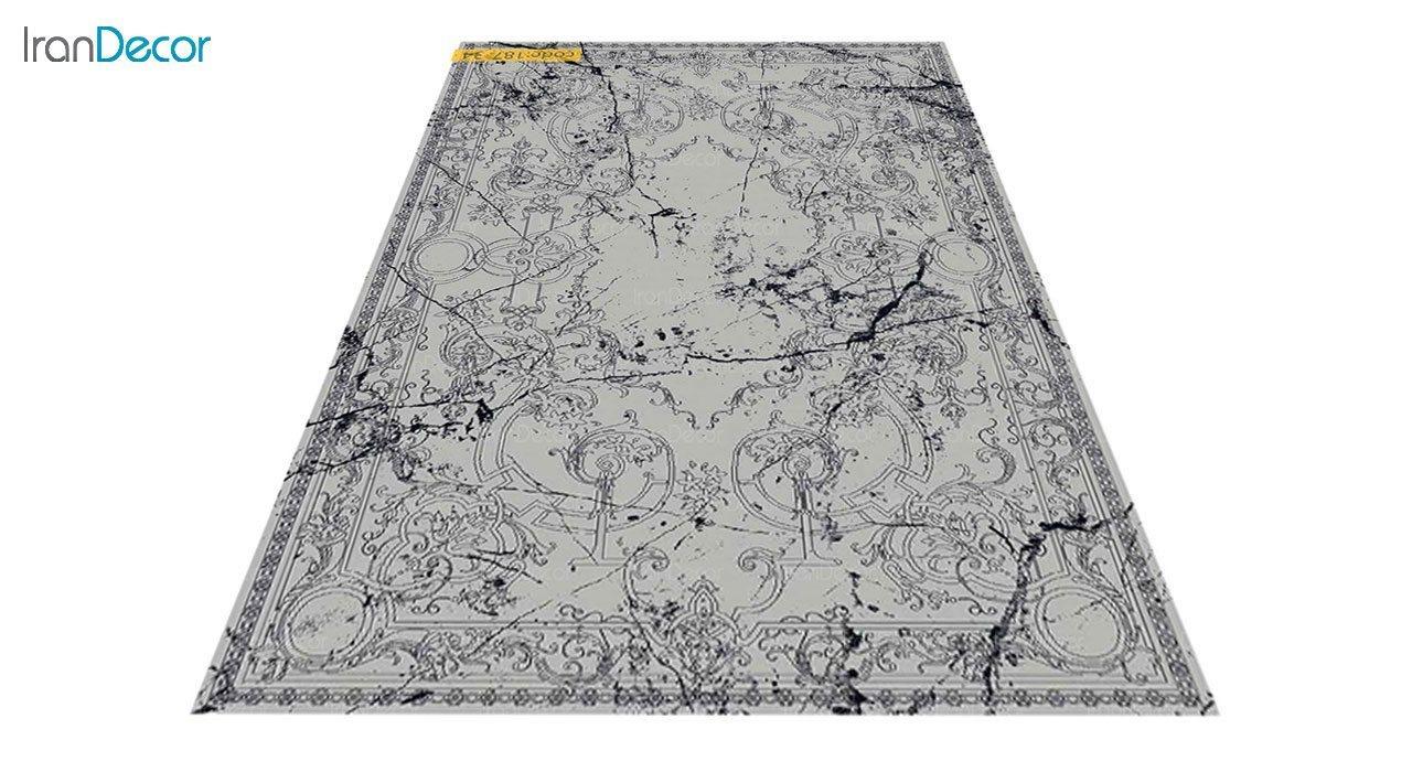 عکس فرش مدرن برنتین طرح یونیک مدل 187-34