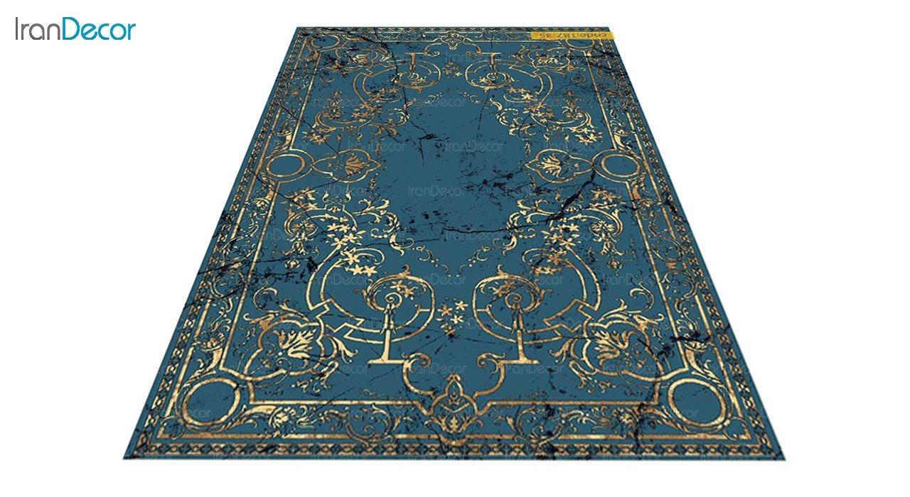 عکس فرش مدرن برنتین طرح یونیک مدل 187-35