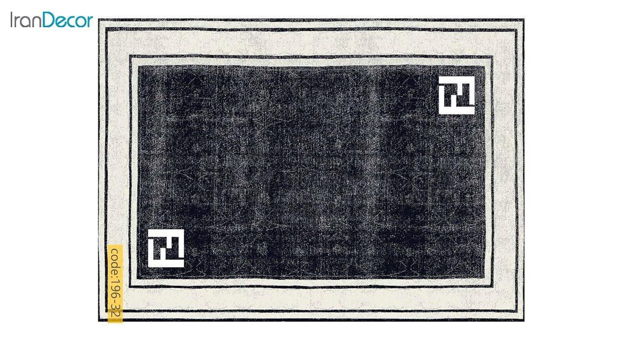 تصویر فرش مدرن برنتین طرح یونیک مدل 196-32