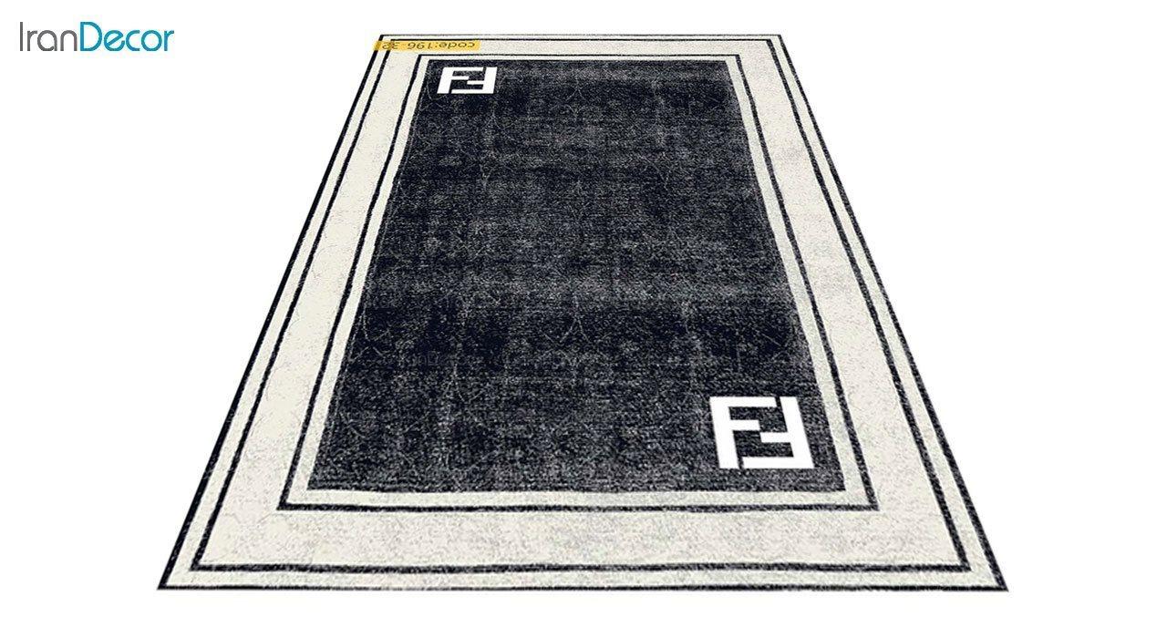 عکس فرش مدرن برنتین طرح یونیک مدل 196-32