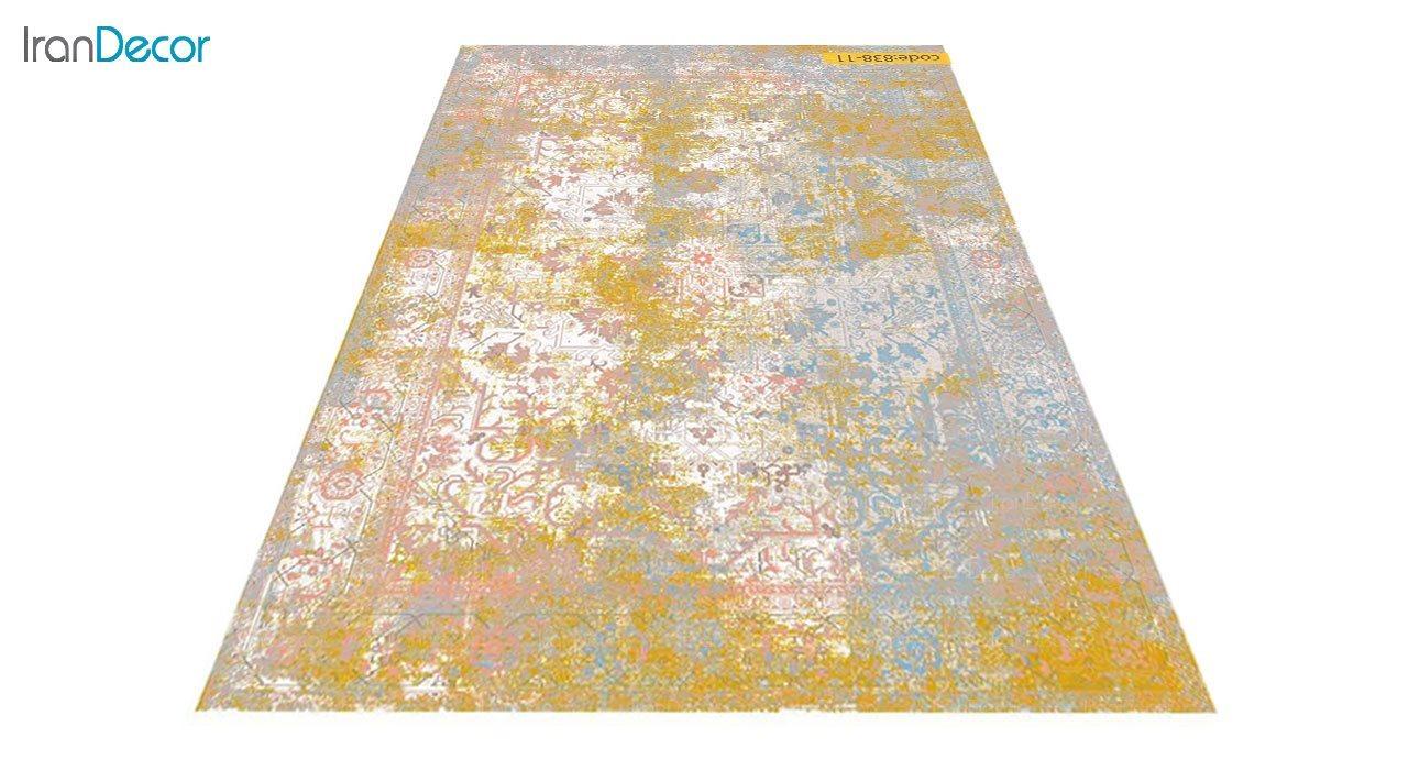 عکس فرش وینتیج برنتین مدل 838-11