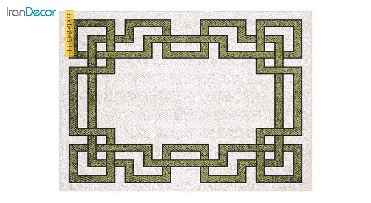 تصویر  فرش وینتیج برنتین مدل 843-11