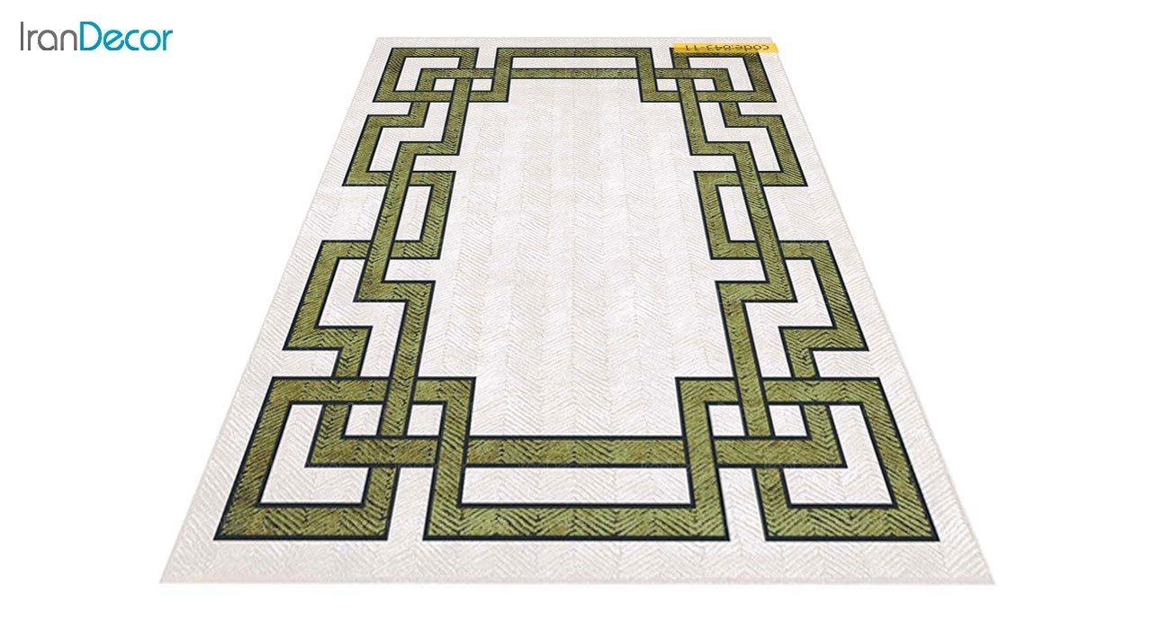 عکس فرش وینتیج برنتین مدل 843-11