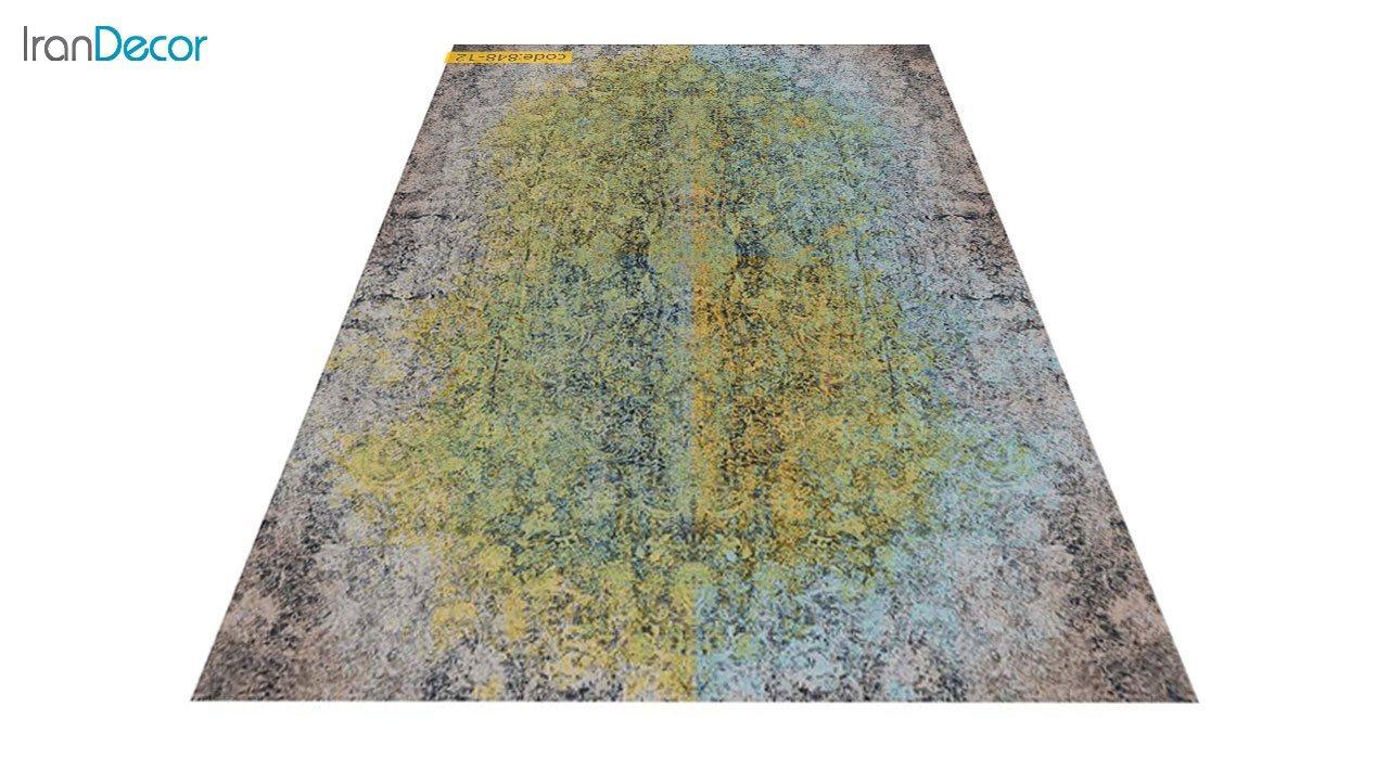 عکس فرش وینتیج برنتین مدل 848-12