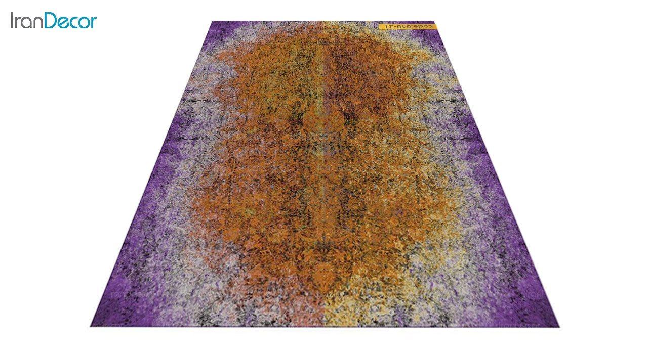 عکس فرش وینتیج برنتین مدل 848-21