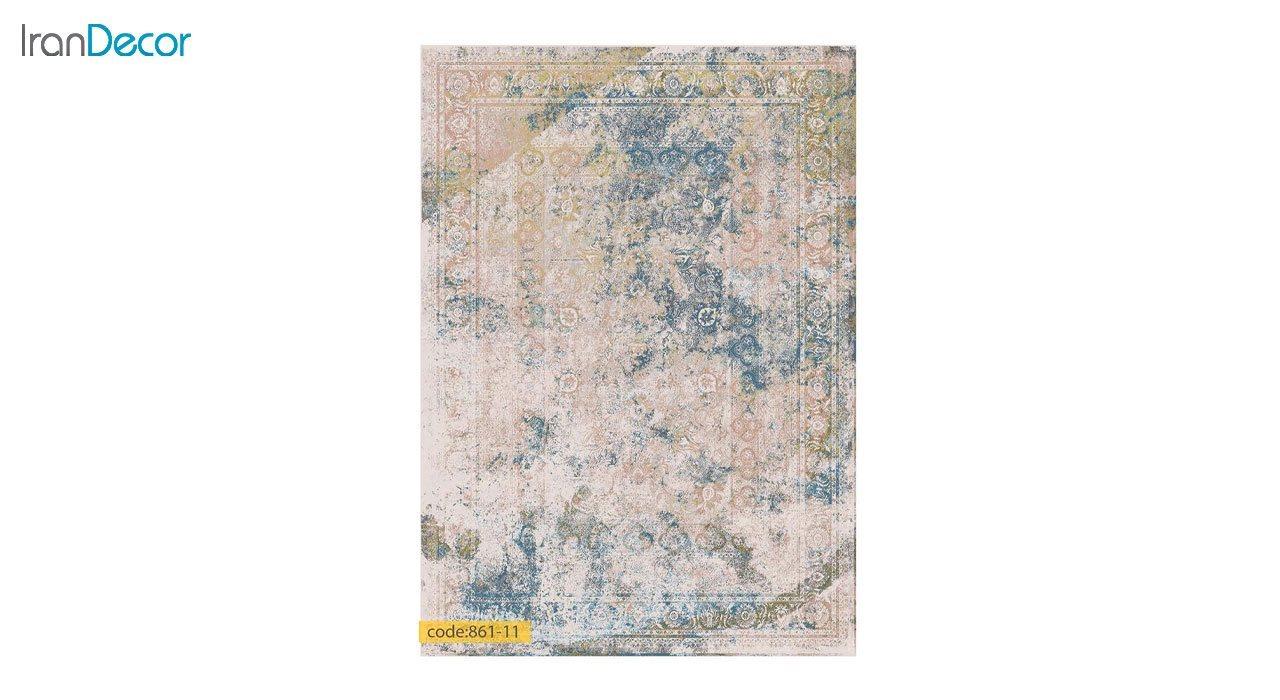 تصویر فرش وینتیج برنتین مدل 861-11