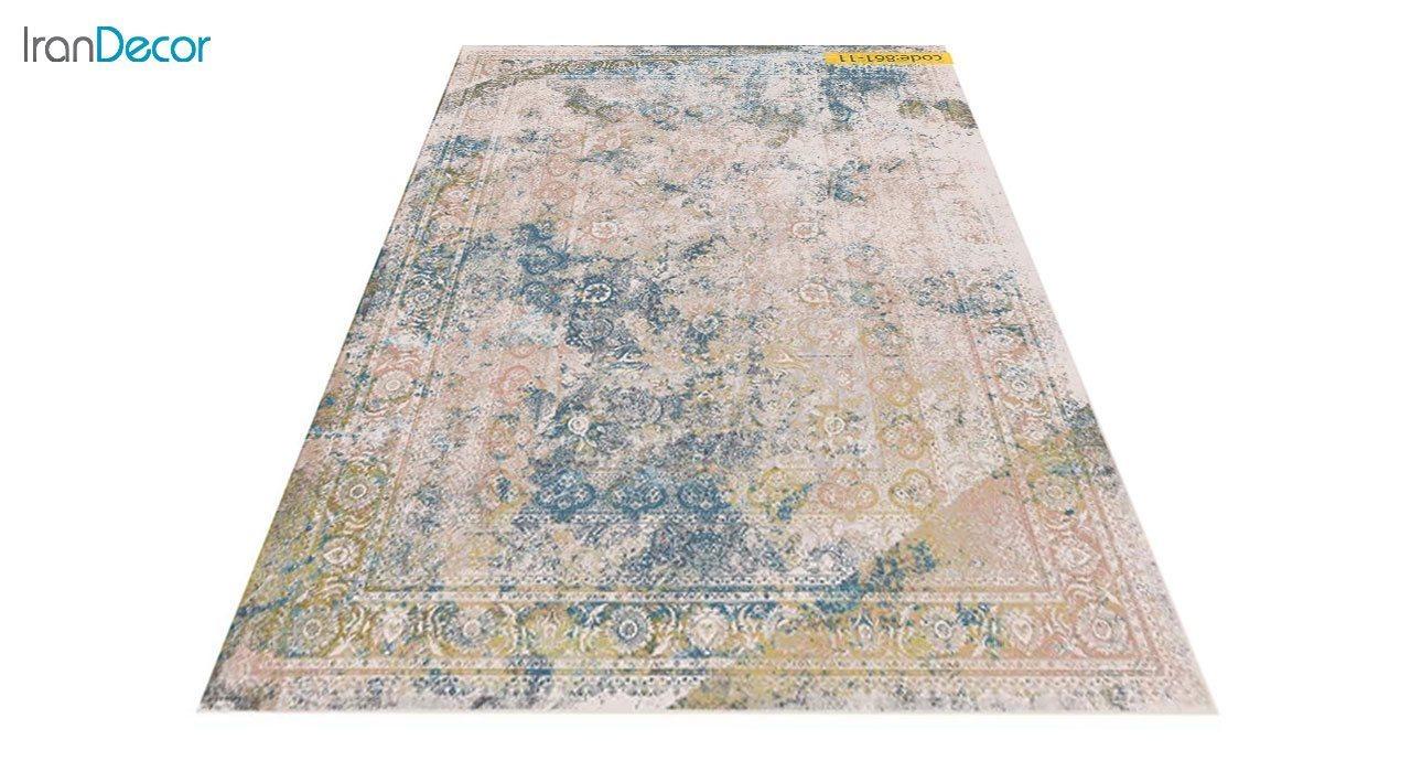 عکس فرش وینتیج برنتین مدل 861-11