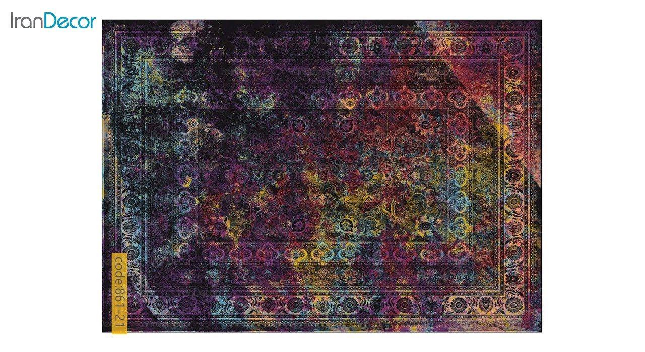 تصویر فرش وینتیج برنتین مدل 861-21