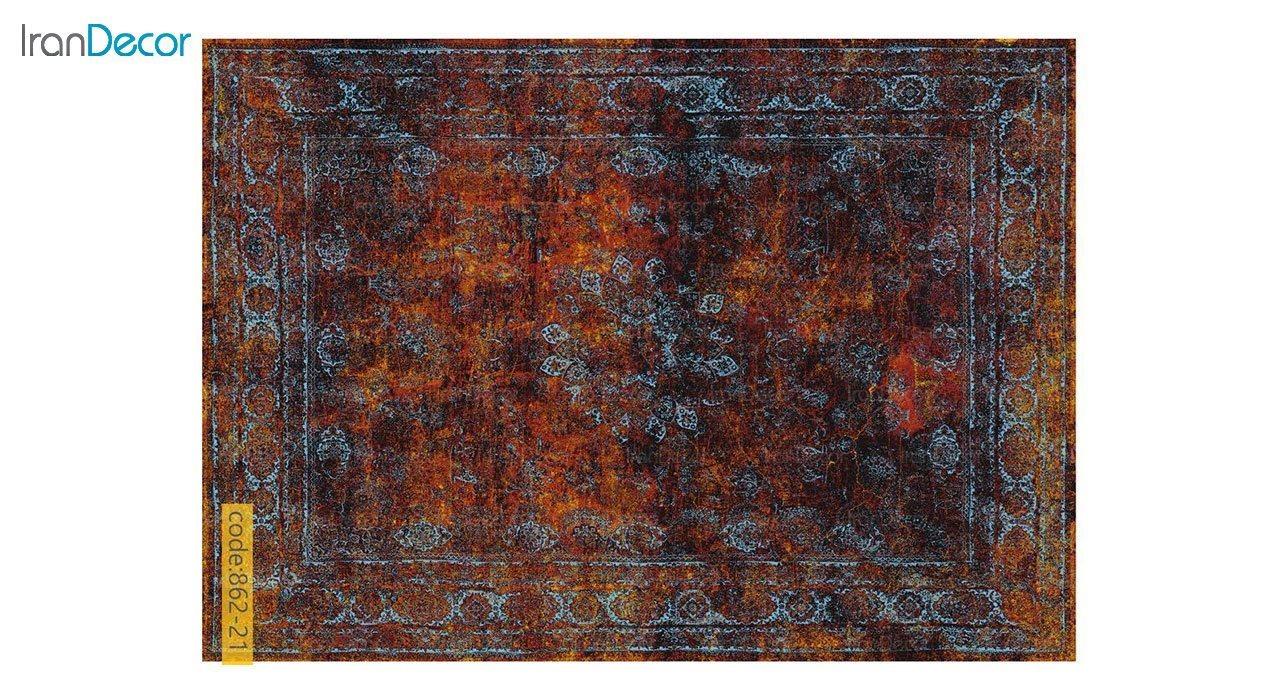 تصویر فرش وینتیج برنتین مدل 862-21