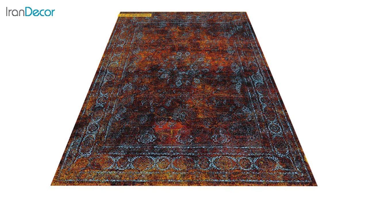 عکس فرش وینتیج برنتین مدل 862-21