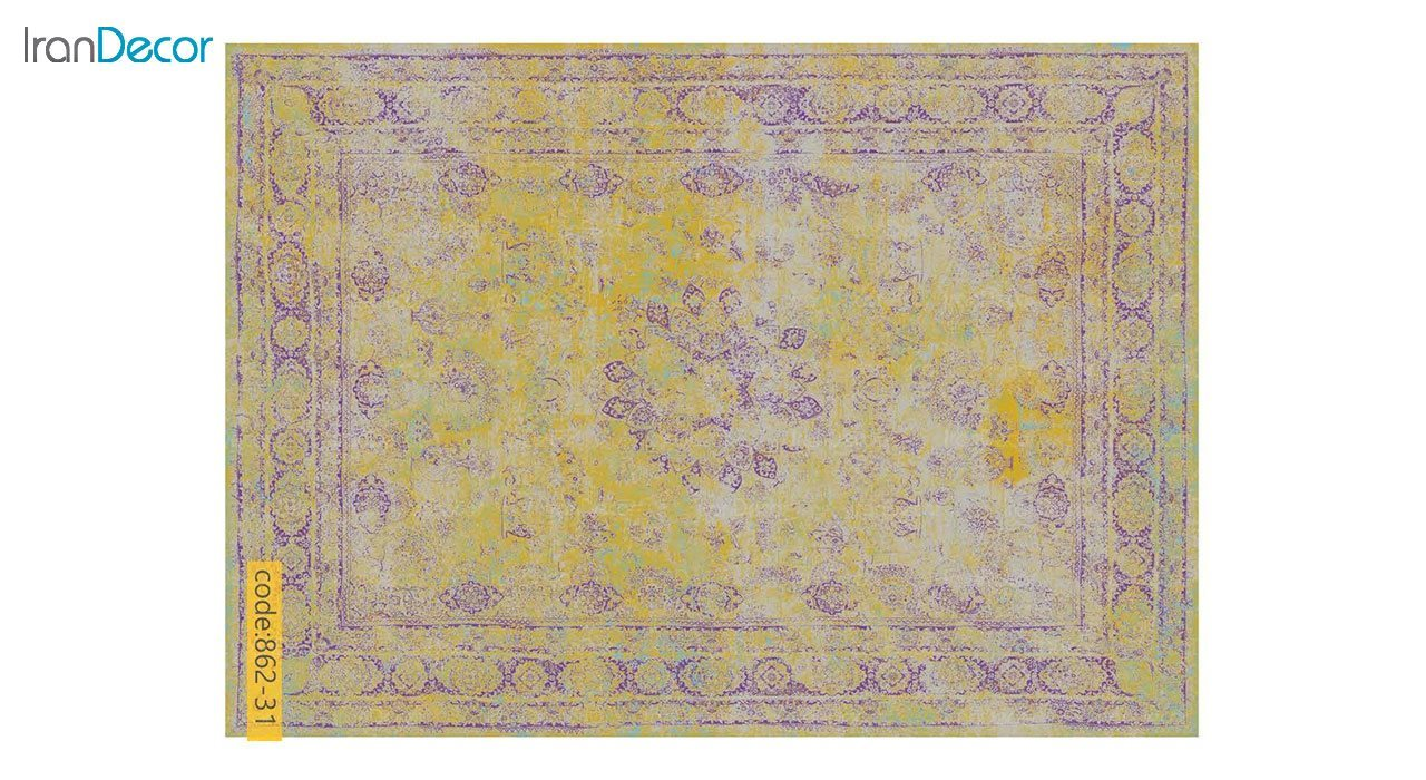 تصویر فرش وینتیج برنتین مدل 862-31