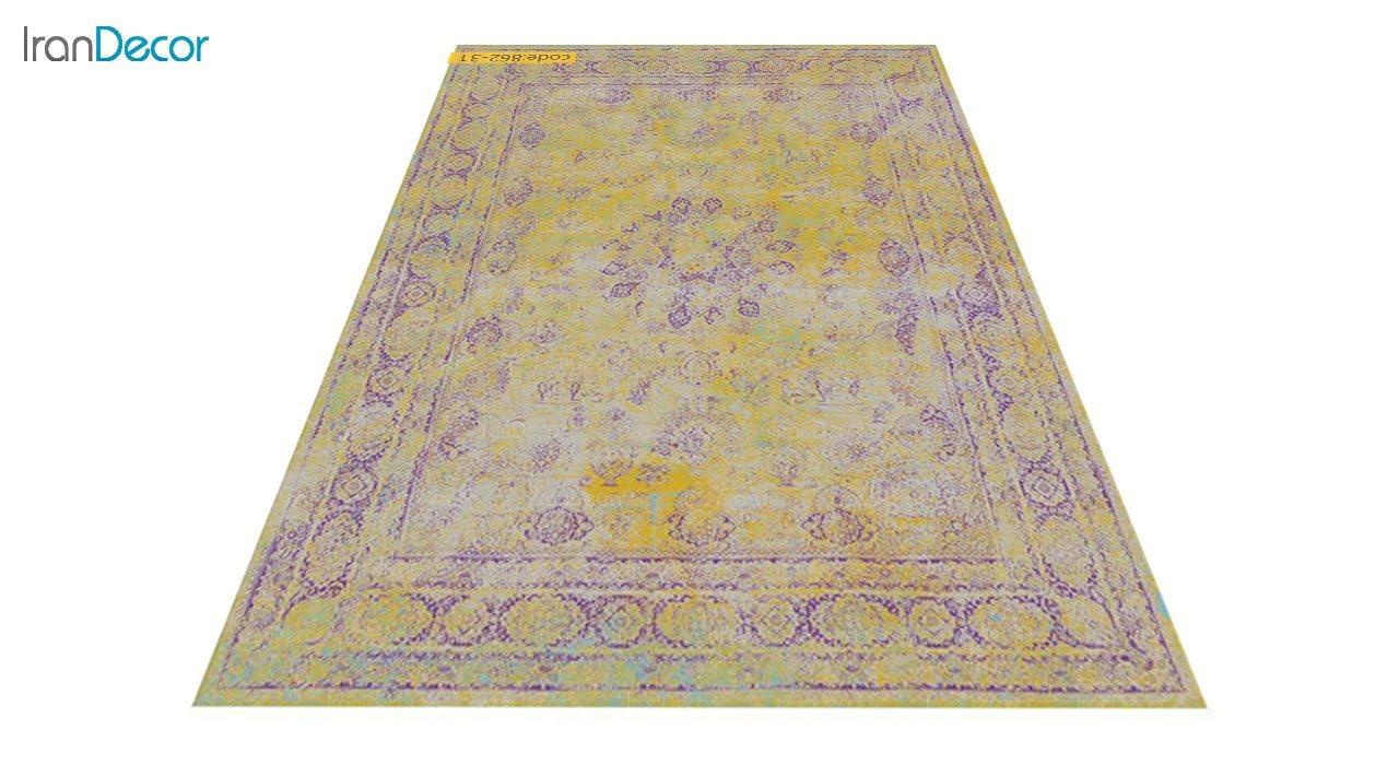 عکس فرش وینتیج برنتین مدل 862-31