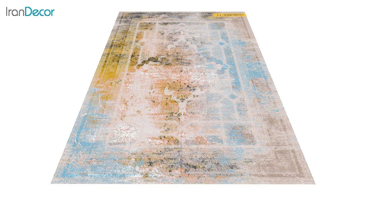 تصویر فرش وینتیج برنتین مدل 865-11