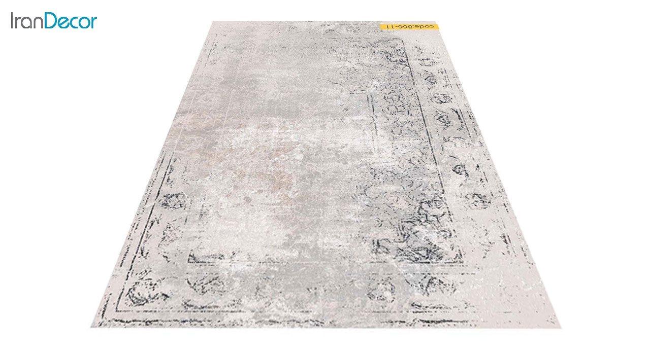 تصویر فرش وینتیج برنتین مدل 866-11