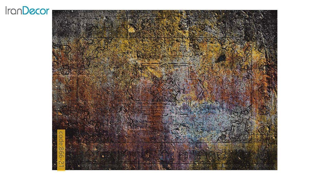 تصویر فرش وینتیج برنتین مدل 866-21