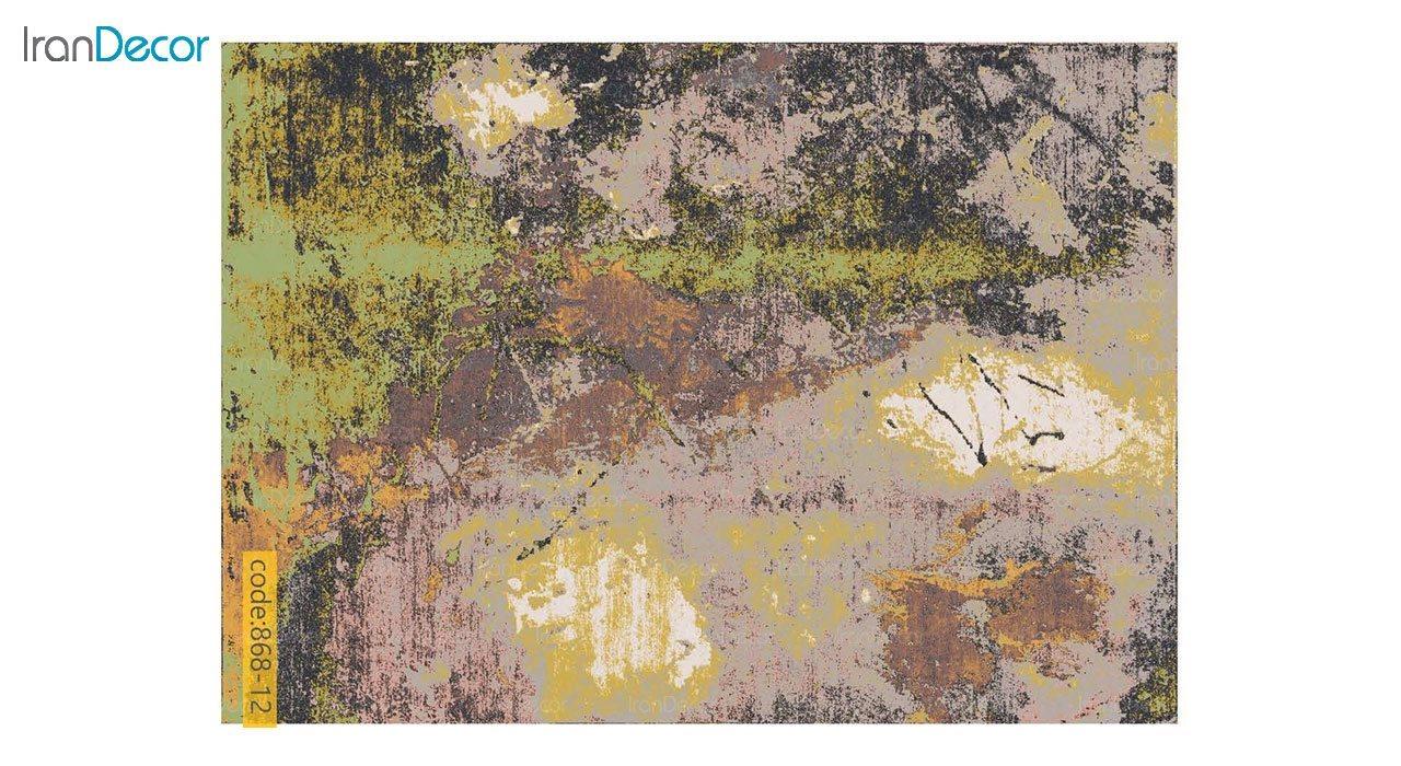 تصویر فرش وینتیج برنتین مدل 868-12