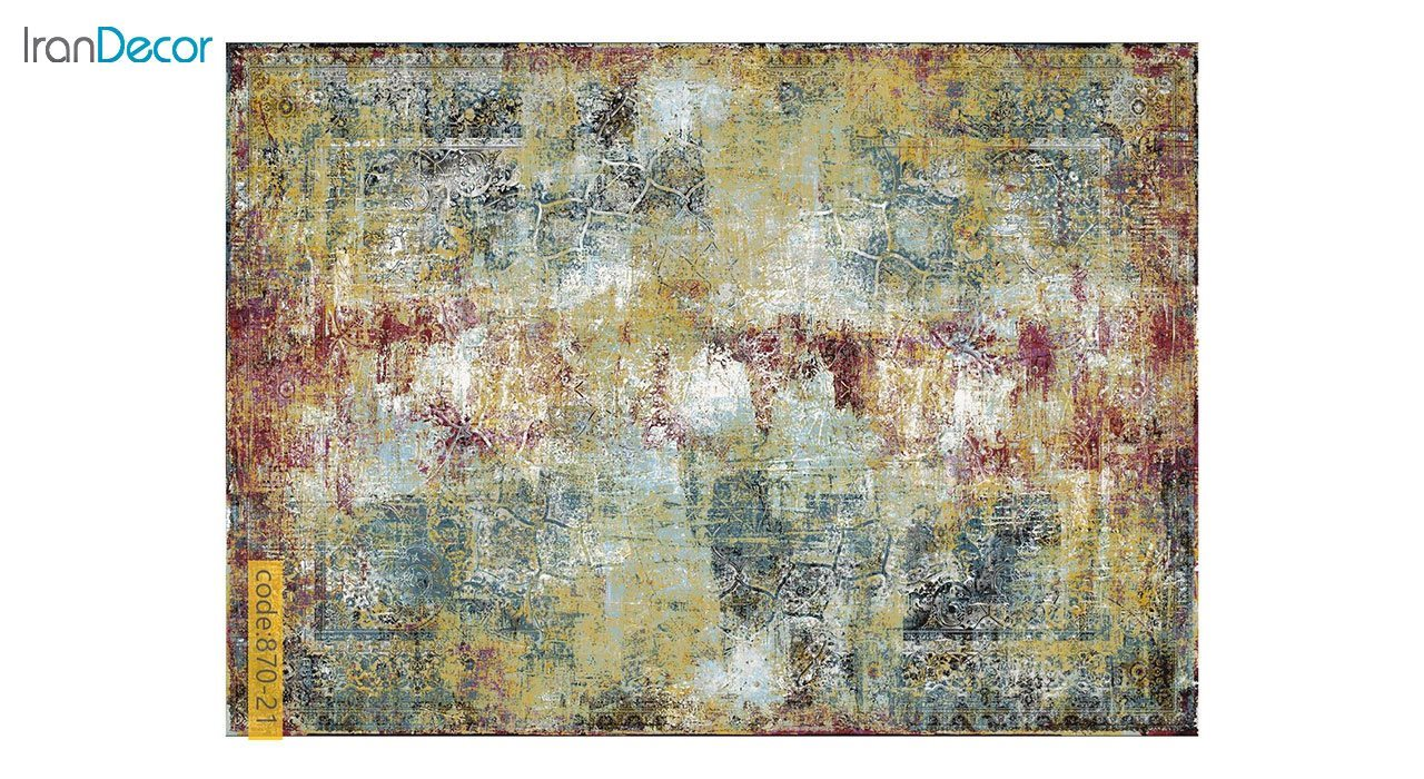 تصویر فرش وینتیج برنتین مدل 870-21