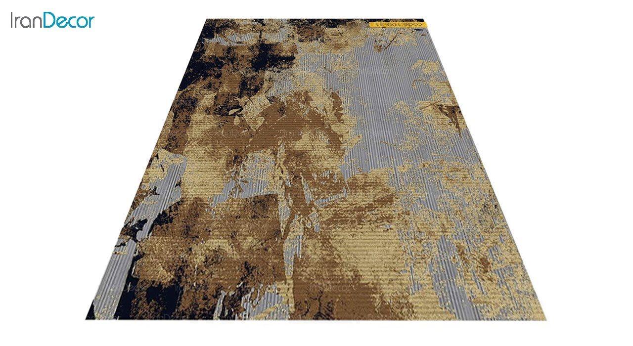 عکس فرش وینتیج برنتین مدل 100-31
