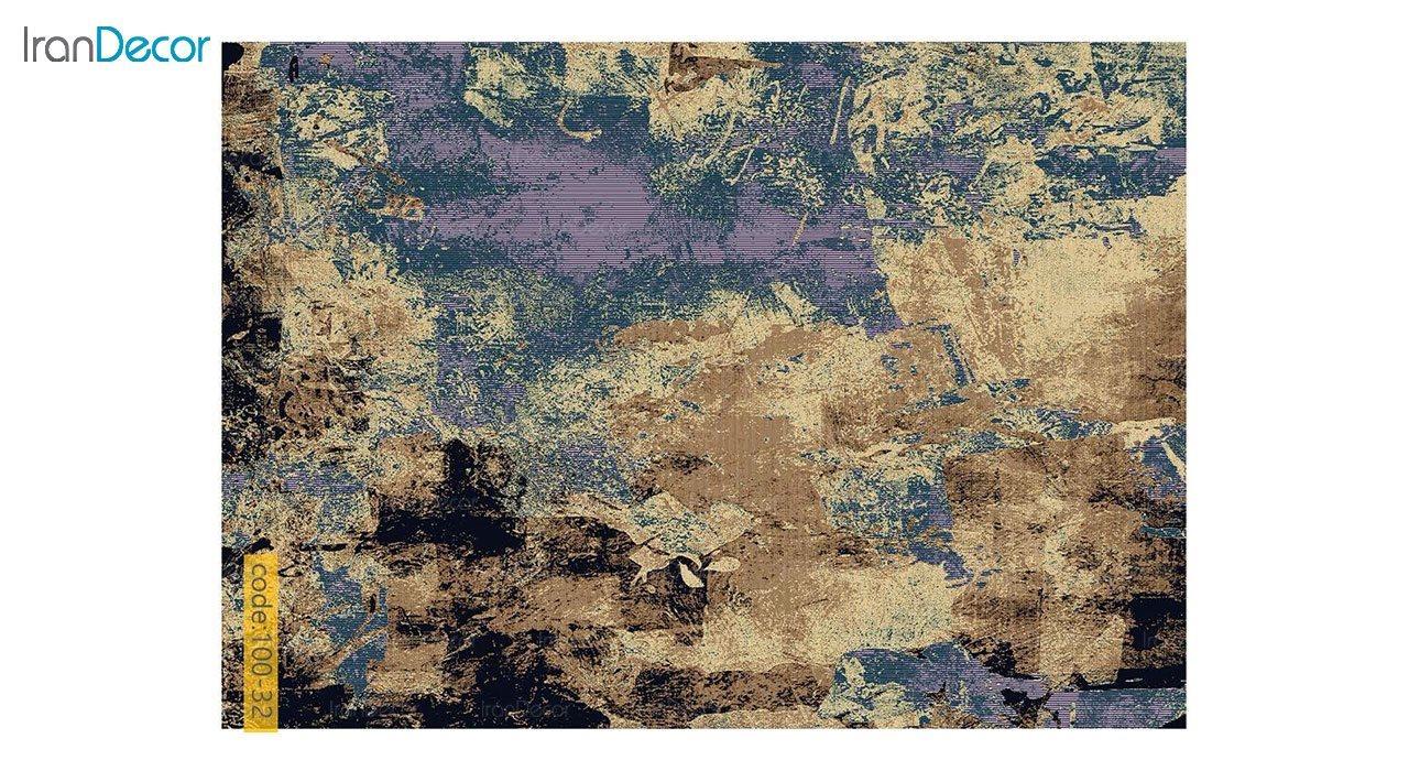 تصویر فرش وینتیج برنتین مدل 100-32