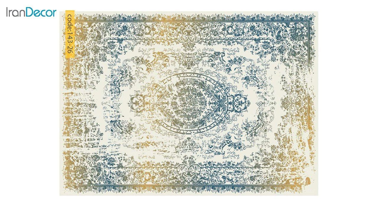 تصویر فرش وینتیج برنتین مدل 143-26