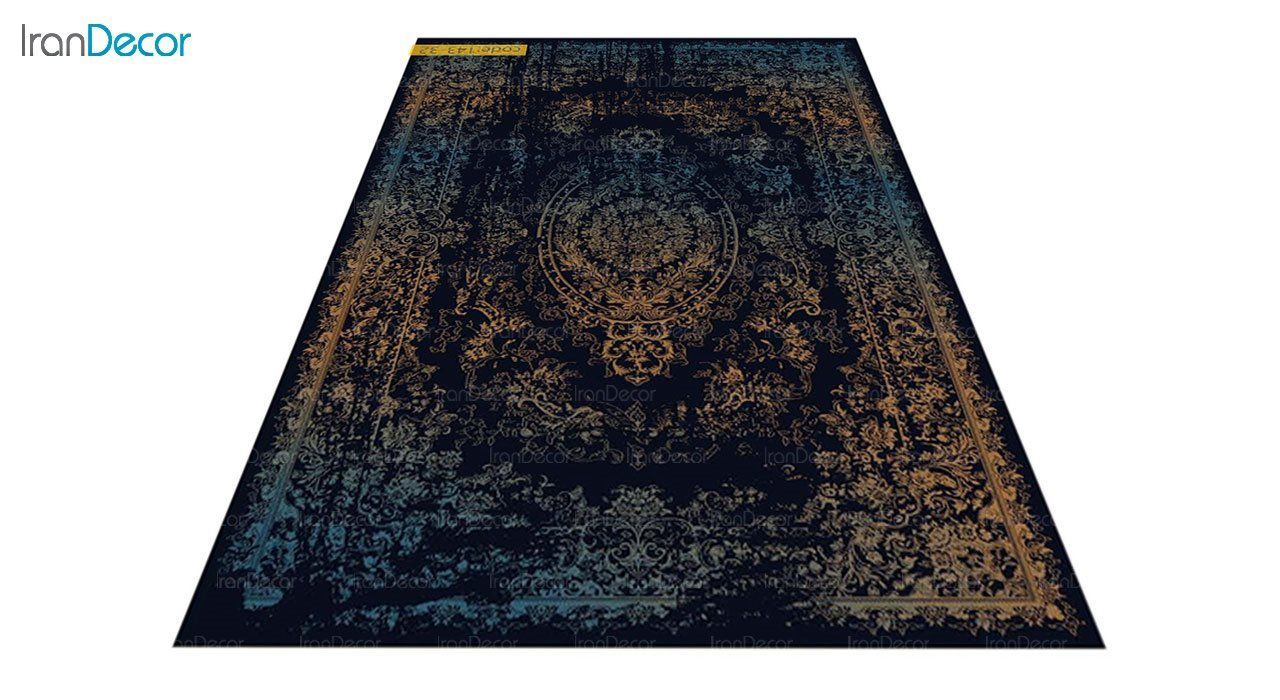 عکس فرش وینتیج برنتین مدل 143-32