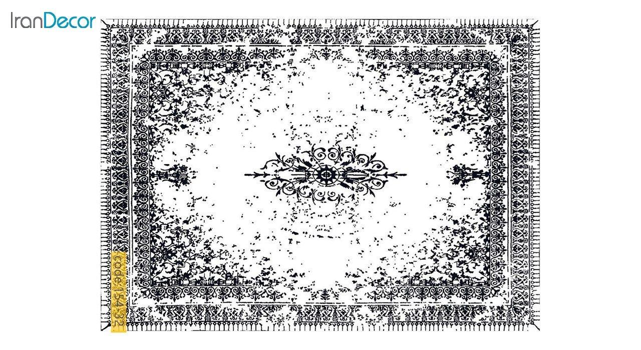 تصویر فرش وینتیج برنتین مدل 154-32