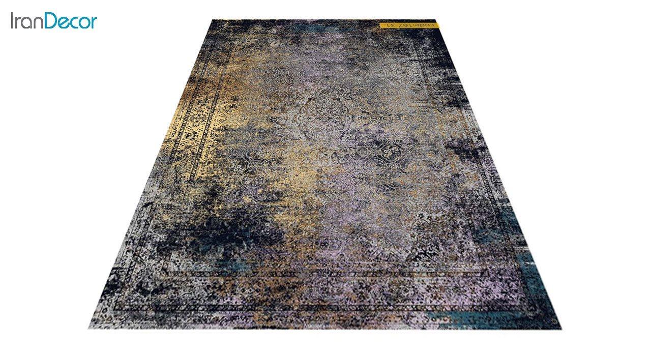 عکس فرش وینتیج برنتین مدل 167-31