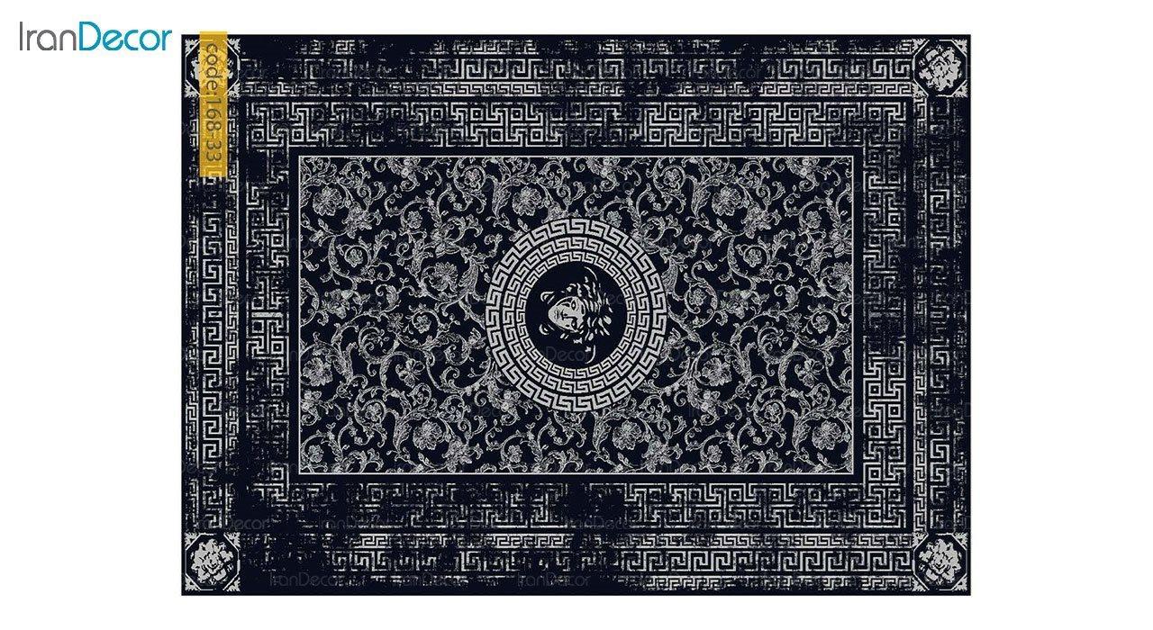 تصویر فرش مدرن برنتین طرح یونیک مدل 168-33
