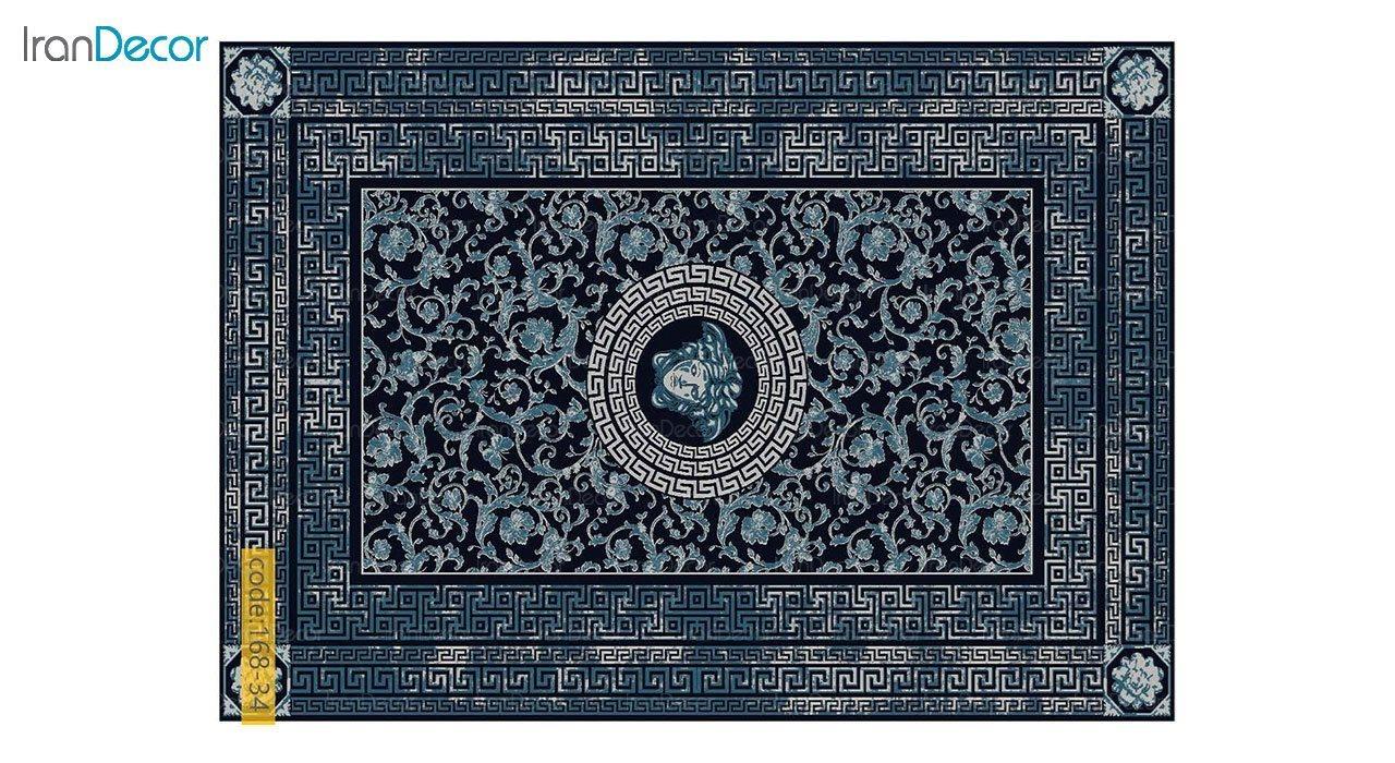 تصویر فرش مدرن برنتین طرح یونیک مدل 168-34