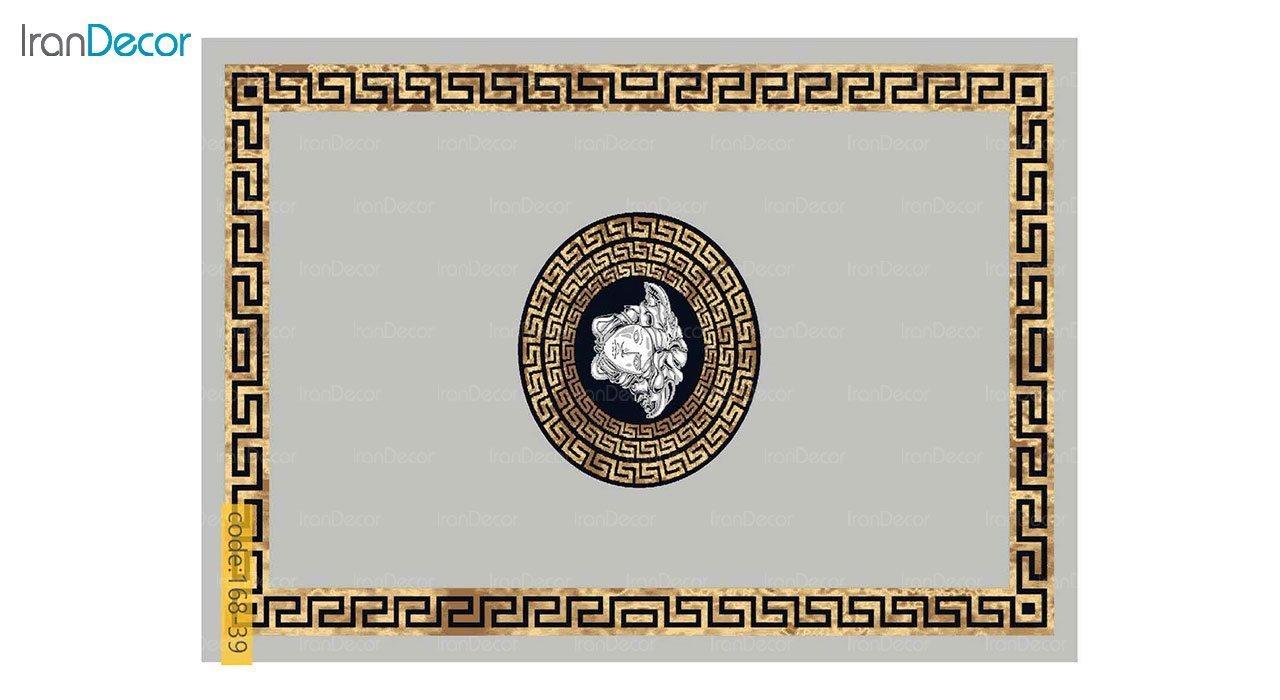 تصویر فرش مدرن برنتین طرح یونیک مدل 168-39