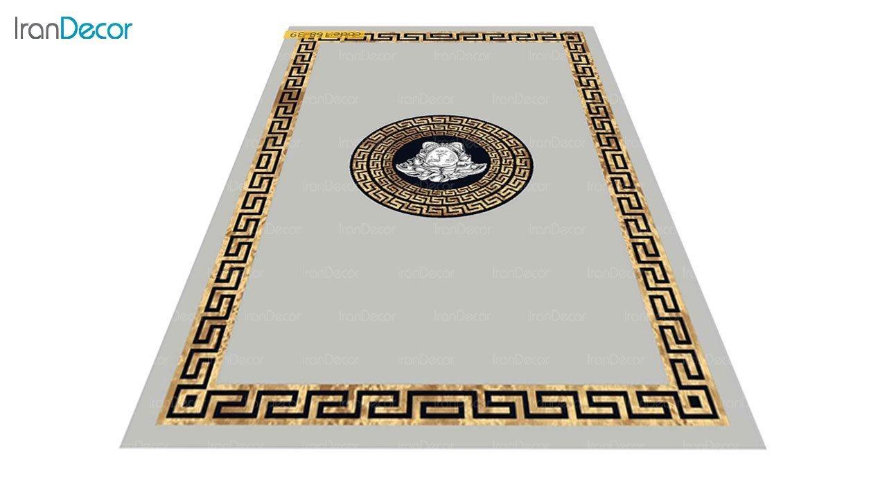عکس فرش مدرن برنتین طرح یونیک مدل 168-39