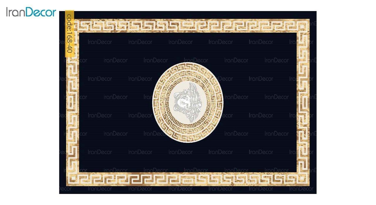 تصویر فرش مدرن برنتین طرح یونیک مدل 168-40