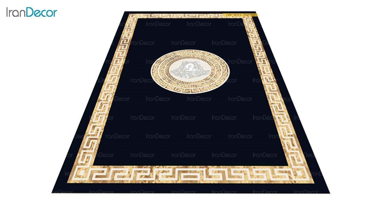 عکس فرش مدرن برنتین طرح یونیک مدل 168-40