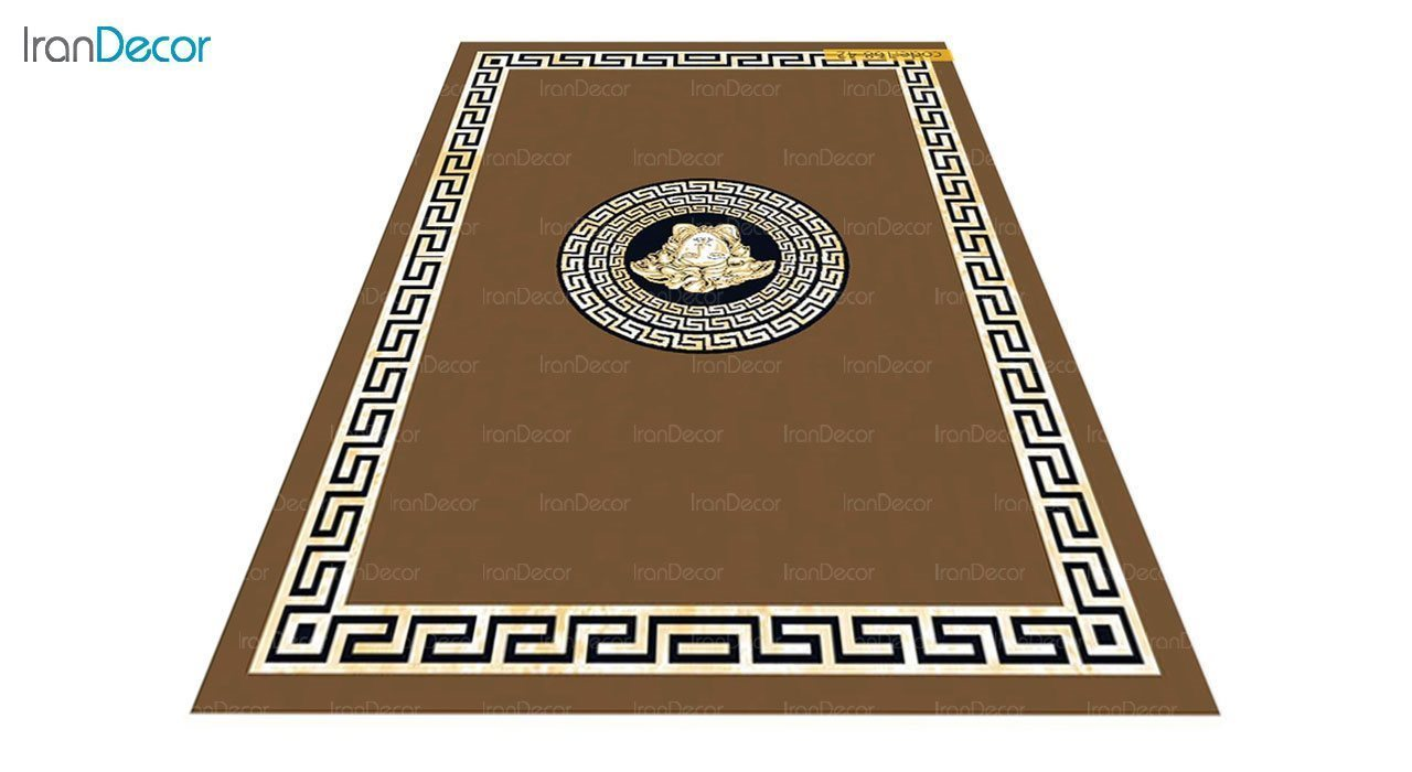 عکس فرش مدرن برنتین طرح یونیک مدل 168-42