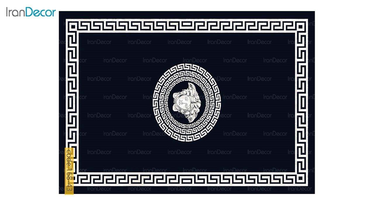 تصویر فرش مدرن برنتین طرح یونیک مدل 168-43