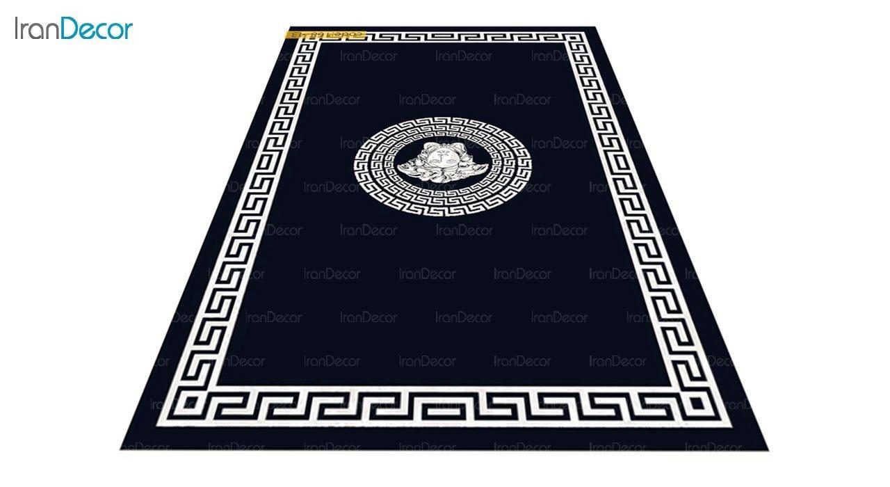 عکس فرش مدرن برنتین طرح یونیک مدل 168-43