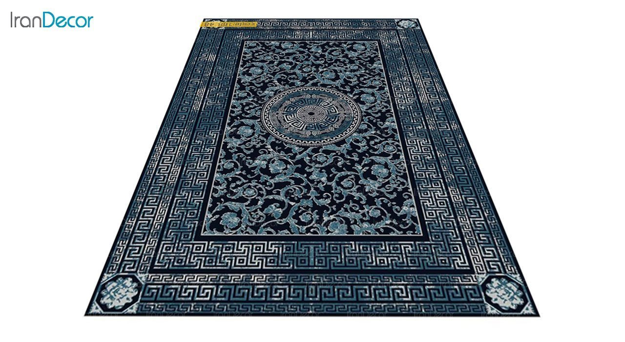 عکس فرش مدرن برنتین طرح یونیک مدل 168-48