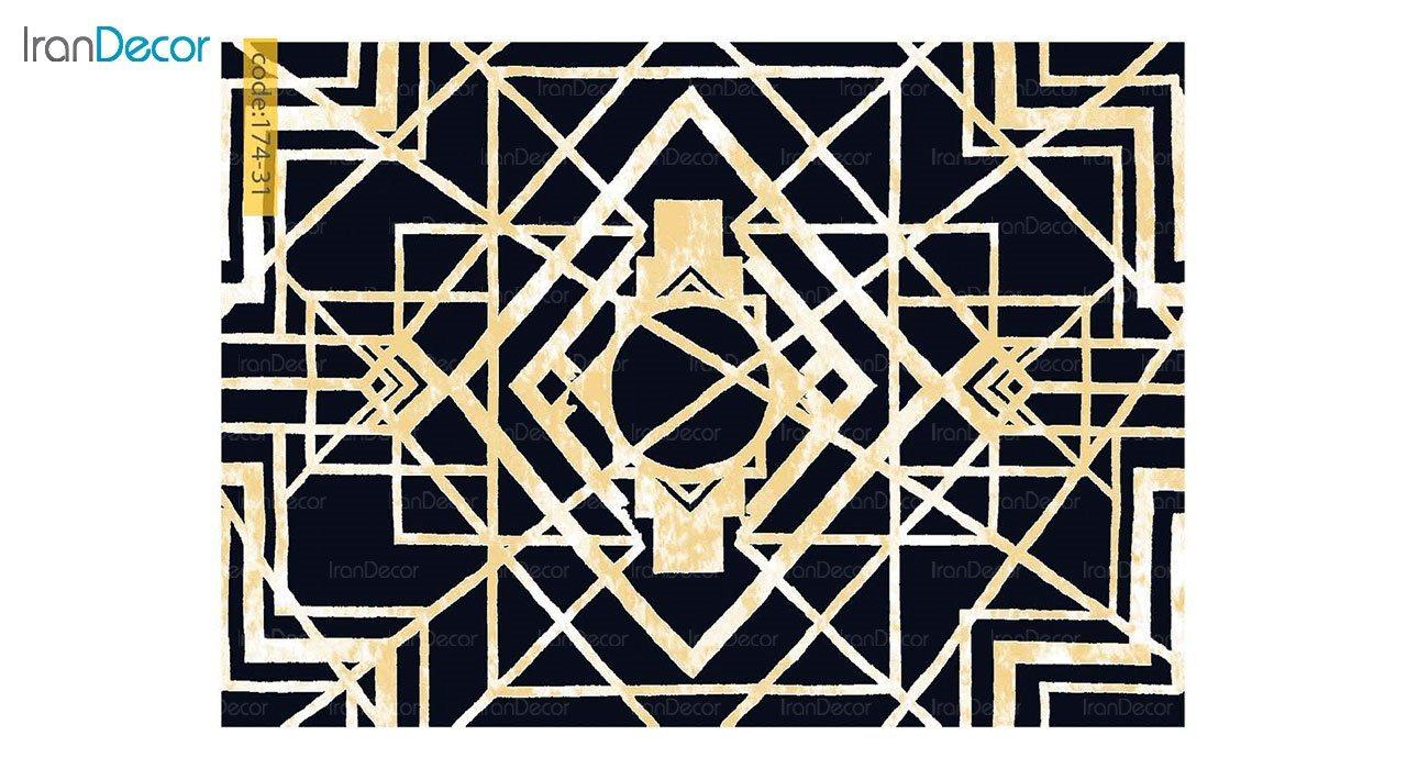 تصویر فرش مدرن برنتین طرح یونیک مدل 174-31