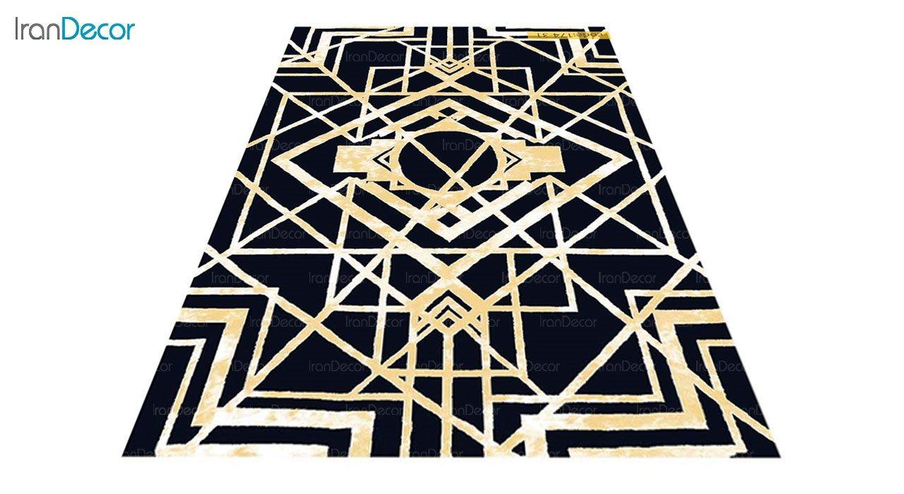 عکس فرش مدرن برنتین طرح یونیک مدل 174-31