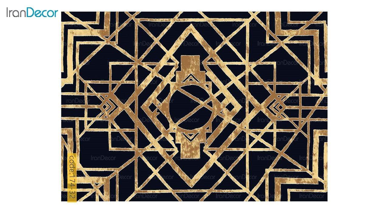 تصویر فرش مدرن برنتین طرح یونیک مدل 174-32