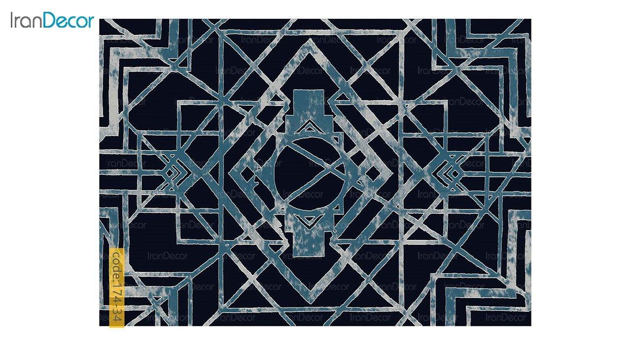 تصویر فرش مدرن برنتین طرح یونیک مدل 174-34