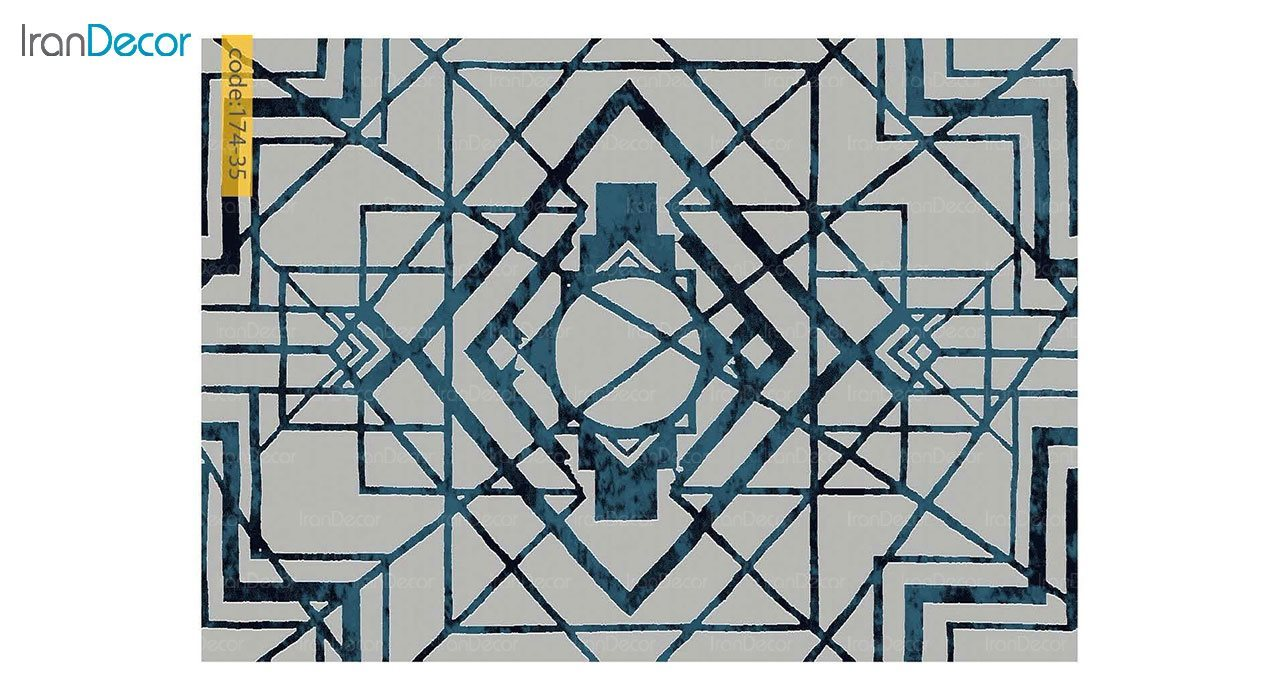 تصویر فرش مدرن برنتین طرح یونیک مدل 174-35