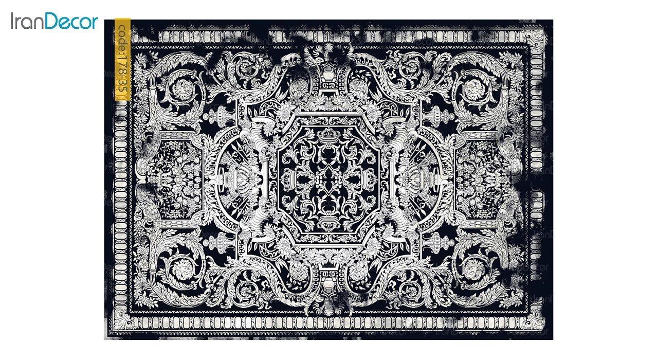 تصویر فرش وینتیج برنتین مدل 178-35