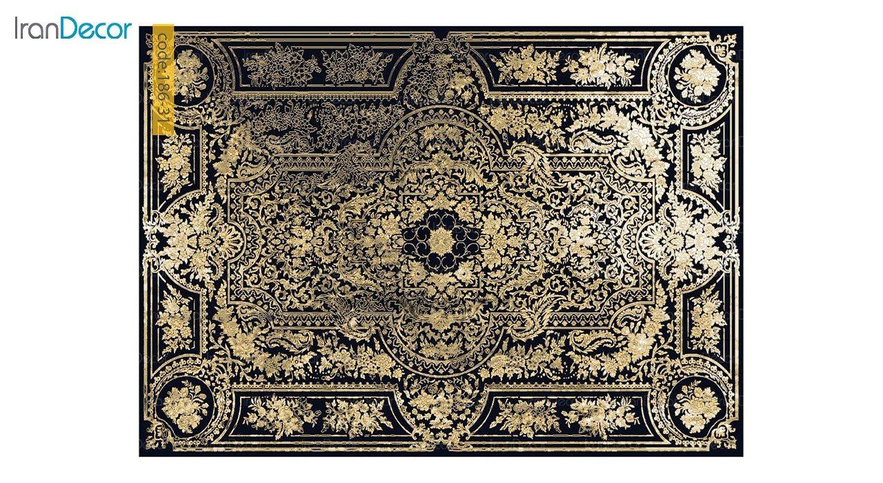 تصویر فرش وینتیج برنتین مدل 186-31