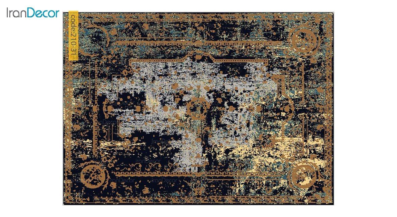 تصویر فرش وینتیج برنتین مدل 210-31