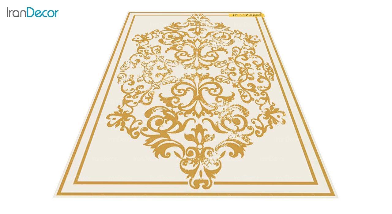 عکس فرش مدرن برنتین طرح یونیک مدل 211-21