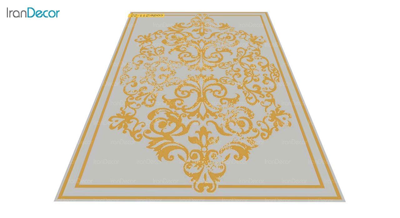 عکس فرش مدرن برنتین طرح یونیک مدل 211-22
