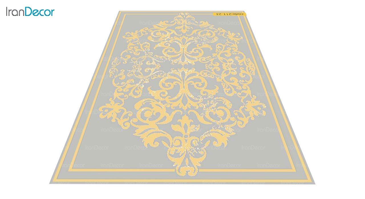 عکس فرش مدرن برنتین طرح یونیک مدل 211-23