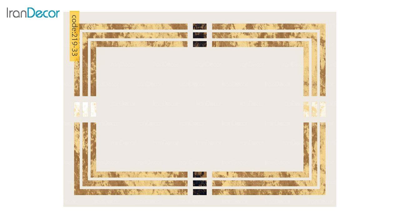 تصویر فرش مدرن برنتین طرح یونیک مدل 219-33